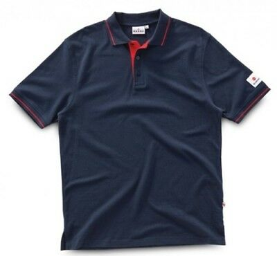 SUZUKI Original Mechaniker-Polo-Shirt, Dunkelblau, M