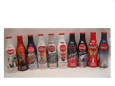 Completed Full Set -Limited Edition-100 Years  Coca Cola  Bottle 1920-2010 Top!!