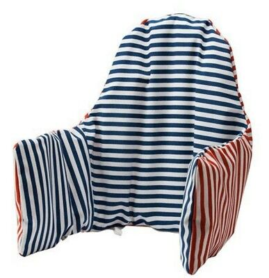 Antilop Highchair Cushion & Cover - Reversible with 2 colours red or blue