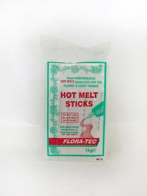 FLORATEC Hot Melt Glue Sticks, White