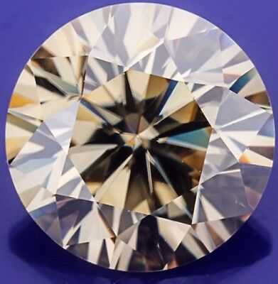 Diamant Diamond Brillantschliff 1,12 ct VVS1 Fancy Brown 7,00mm