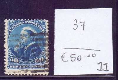 ! Canada 1893. Stamp. YT#37. €50.00 !