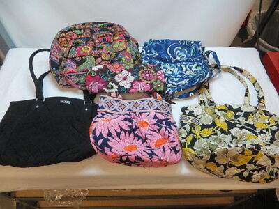 Large Lot Of Vera Bradley Handbags/Assorted Colors & Styles/Nice Selection!