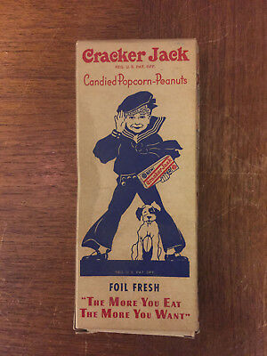 Original Vintage Cracker Jack Empty Box