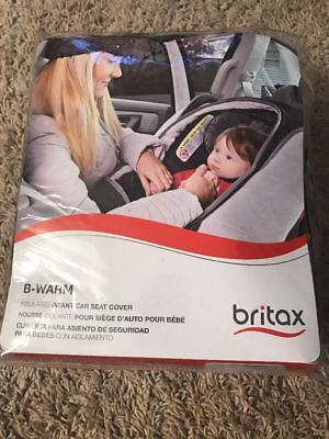 Britax B Warm Insulated Infant Car Seat Cover In Polar Open Box