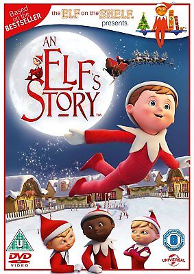 An Elf's Story: The Elf on the Shelf [DVD] [2012] Chad Eikhoff New Sealed