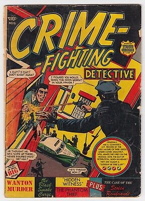 Crime Fighting Detective #16 Star Pubs. 1951 L.b. Cole Cover G 2.0