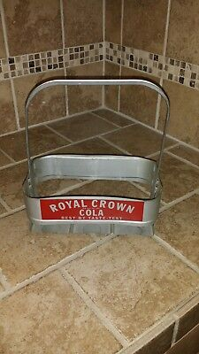 Royal Crown Cola 6 Pack Carrier 1950's RARE!