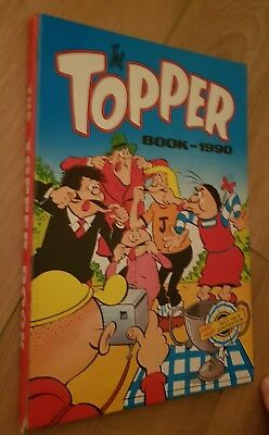 The Topper Book 1990 Annual. Unclipped