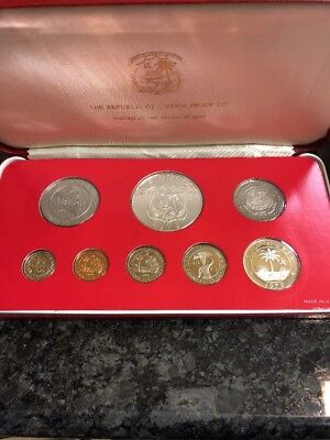 1979 Proof Coinage Of The Republic Of Liberia (8 Coin Set)