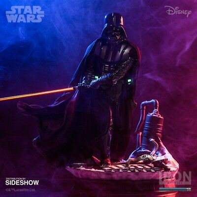 Iron Studios Darth Vader 1/4 Legacy Replica Statue / No Sideshow