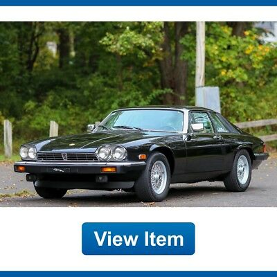 1991 Jaguar XJS  1991 Jaguar XJS Classic Collection V12 5.3L Coupe 48K Mi dealer Servied Carfax