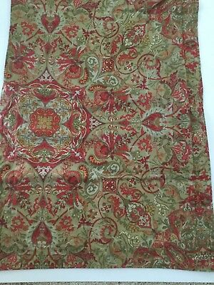 Pair Of Vintage Ralph Lauren Pillow Shams Randolph Red And Green