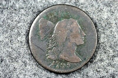 Estate Find 1795 - Flowing Hair Large Cent!!  #H2752