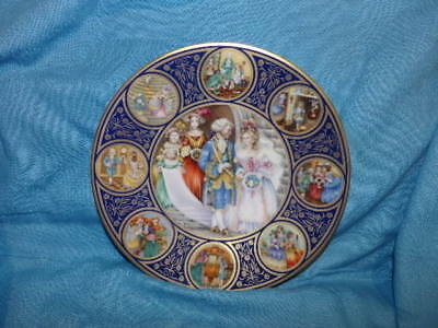 1978 Porcelaine Franklin Mint The Cinderella Collector Plate by Pauline France