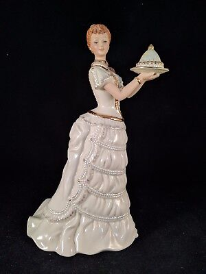Lenox Ivory Classics - Made For The Holiday - Christmas Figurine
