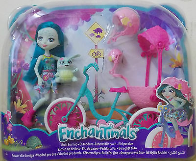 Enchantimals ~ Built For Two Tricycle Playset ~ Inc Taylee Turtle Doll & Pet