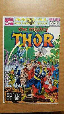 Mighty Thor Annual #16 Marvel Comics Book VF+ (8.5) NR Auction Free To Ship