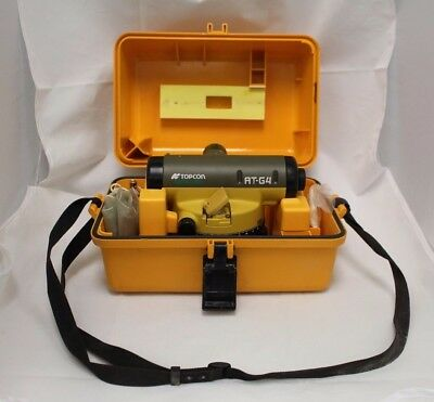 Topcon Green Label At-G4 Auto Level Slightly Used + Case