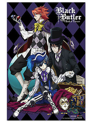 BLACK BUTLER BOOK OF CIRCUS PAPER POSTER Licensed 28X36