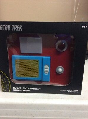 Think Geek Star Trek USS Enterprise Door Chime Replica Communication Panel