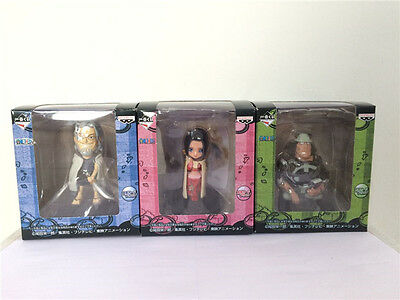One Piece 3pcs set pvc figures toy anime collection 3D model doll new