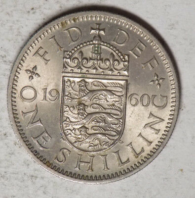 Great Britain 1960 1 Shilling Coin
