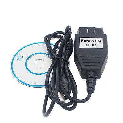 Car Diagnostic Tool OBD2 Scanner For Ford VCM ECU IDS Program Scanner Usb Cable