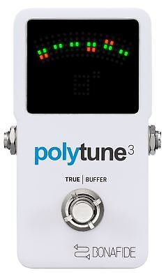 TC Electronic Polytune 3 Poly Chromatic Tuner w/ buffer