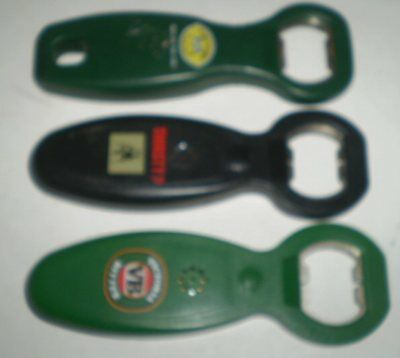 3 Aussie beer advertising talking   bottle openers - XXXX Thirsty DogVB, Two Dog
