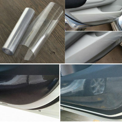 "6""x120"" Clear Car Protector Film Roll Vinyl Bra Door Edge Protective Removable"