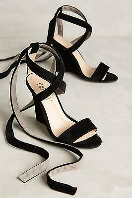 fcf5b1800 ANTHROPOLOGIE BILLY ELLA Sandals Satin Bead Gladiator Tie Shoes Pink ...