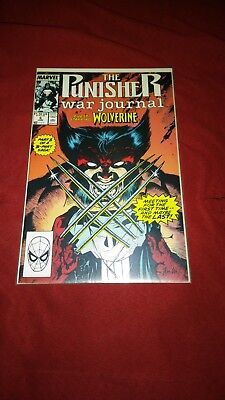 The Punisher War Journal #6 (Jun 1989, Marvel) Appearance by WOLVERINE *********