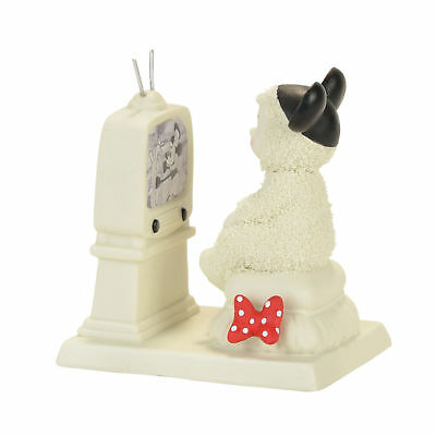 Dept 56 Snowbabies Guest Collection 2017 TUNED INTO MICKEY Snowbaby 4057452