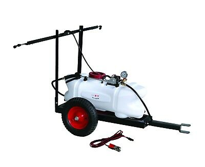 *Vic Pickup 12V 60L Atv Garden Tow Behind Boom Weed Sprayer Tank Trailer