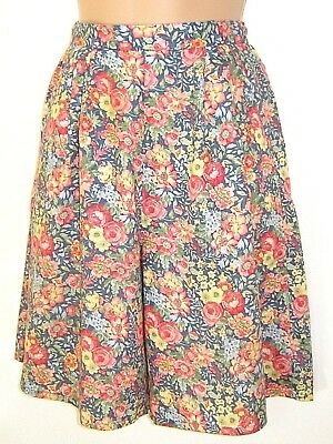 Laura Ashley Vintage English Country Summer Blooms Shorts & T-Shirt,small/8-10