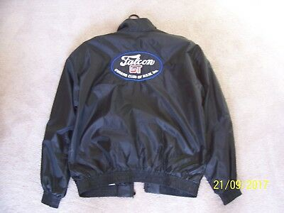 Ford Falcon Gt Black Light Weight Jacket Ladies Small Size