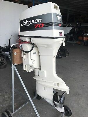 70hp Johnson outboard