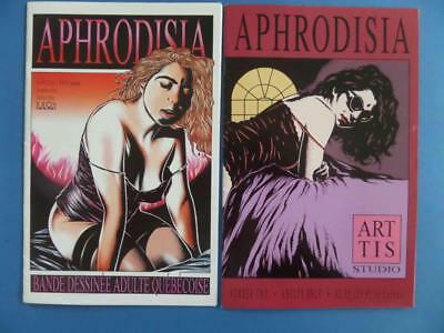 Aphrodisia 1, 2 Eros Rare! Adults!