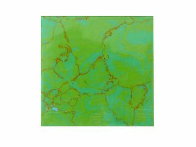 Incudo™ D Natural Jasper Reconstituted Stone Inlay Blank - 50x50x1.5mm (2x1.9...