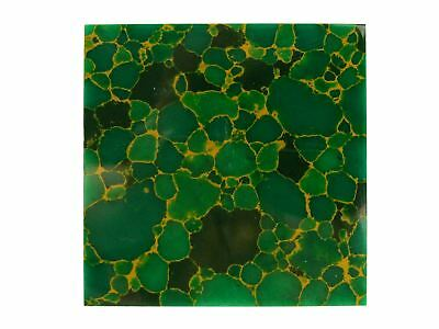 "Incudo™ B ""Arizona"" Natural Jade Reconstituted Stone Inlay Blank - 50x50x1.5m..."