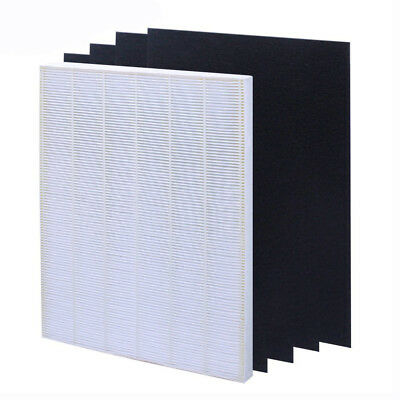 Air Purifier Replacement Filter Net + 4 Activated Carbon Fabric for Winix 115115