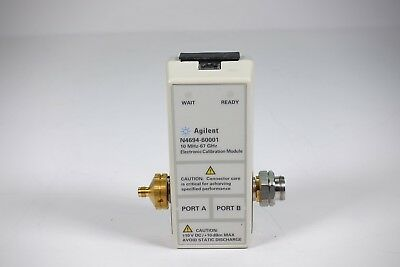 Keysight Used N4694A 1.85 mm ECal module 67 GHz, 2-port (M0F) (Agilent)