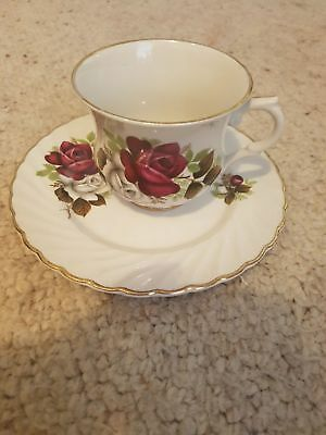 OLD FOLEY - James Kent Cup & Side Plate - Made in England
