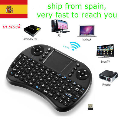 2.4Ghz mini i8  Wireless Keyboard  Touchpad Handheld for TV BOX PC Laptop Tablet