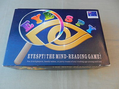 EYESPY The Mind-Reading Game First Edition Vintage BOARD GAME Alpha 1993 - Rare