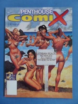 Penthouse Comix 24 July 1997 Scott Hampton + 2 Erotic Manga Strips!
