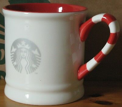 Starbucks Christmas Weihnachten Winter 2017 Candy Cane Mug, 10 oz neu mit SKU