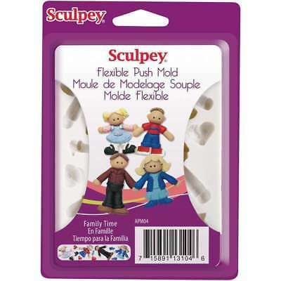 Sculpey Push Mold - for fimo sculpey polymer clay - BEST VALUE EUROPE - premo