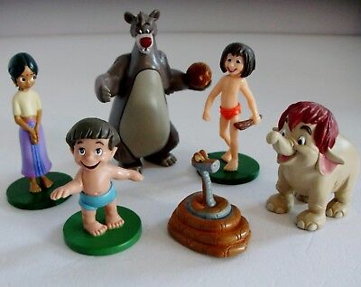 Disney Jungle Book Toy Mini Figure Bundle